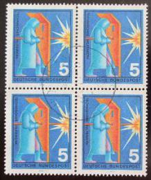 Poštovní známky Nìmecko 1970 Sváøeè ètyøblok Mi# 629