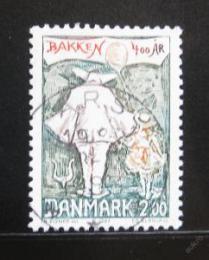 Poštovní známka Dánsko 1983 Zábavní park Mi# 769