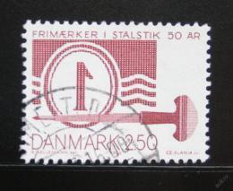 Poštovní známka Dánsko 1983 Tisk známek Mi# 771