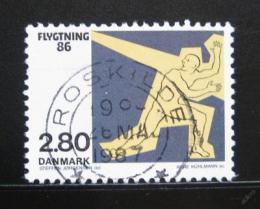 Poštovní známka Dánsko 1986 Pomoc uprchlíkùm Mi# 884