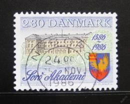 Poštovní známka Dánsko 1986 Akademie Soro Mi# 865