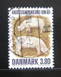 Poštovní známka Dánsko 1987 Prasata Mi# 898