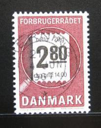 Poštovní známka Dánsko 1987 Koncil spotøebitelù Mi# 890