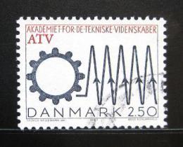 Poštovní známka Dánsko 1987 Akademie technických vìd Mi# 894