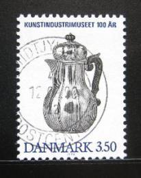 Poštovní známka Dánsko 1990 Muzeum dekorativního umìní Mi# 971