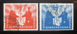 Poštovní známky DDR 1951 Prezidenti Mi# 284-85 Kat 65€