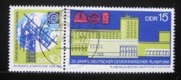 Poštovní známky DDR 1970 Výroèí nìm. rádia Mi# 1573-74 Kat 6€