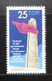 Poštovní známka DDR 1972 Protifašistický památník Mi# 1798
