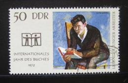 Poštovní známka DDR 1972 Mezinárodní rok knihy Mi# 1781