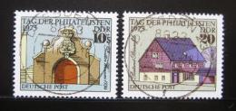 Poštovní známky DDR 1975 Den filatelistù Mi# 2094-95