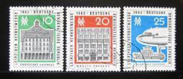 Poštovní známky DDR 1962 Lipský veletrh Mi# 913-15