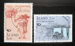 Poštovní známky Alandy 1993 Jan Karlsgarden muzeum Mi# 70-71