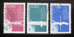 Poštovní známky Finsko 1967 Výroèí nezávislosti Mi# 633-35