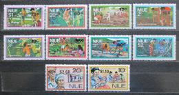 Poštovní známky Niue 1978 Hospodáøství TOP SET Mi# 208-17