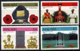 Poštovní známky Malawi 1982 Den padlých Mi# 384-87