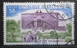 Poštovní známka Pobøeží Slonoviny 1975 Pevnost u Dabou Mi# 472