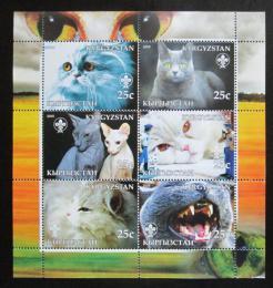 Poštovní známky Kyrgyzstán 2005 Koèky Mi# N/N