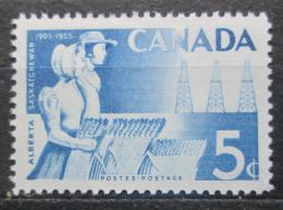Poštovní známka Kanada 1955 Farmáøi Mi# 304