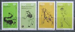 Poštovní známky JAR 1976 Sport Mi# 489-90,505,508