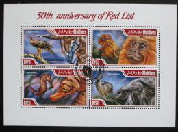 Poštovní známky Maledivy 2014 Chránìná fauna Mi# 5233-36 Kat 10€
