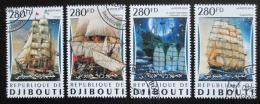Poštovní známky Džibutsko 2016 Plachetnice Mi# 1343-46 Kat 11€
