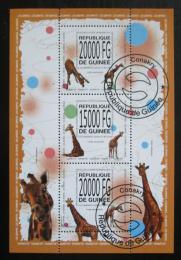 Poštovní známky Guinea 2013 Žirafy Mi# 10085-87 Kat 22€