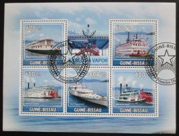 Poštovní známky Guinea-Bissau 2009 Parníky Mi# 4521-25 Kat 14€