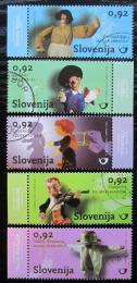 Poštovní známky Slovinsko 2010 Loutkové divadlo Mi# 854-58 Kat 9.50€