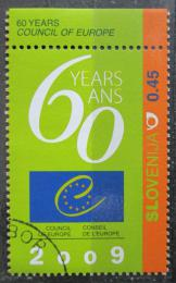 Poštovní známka Slovinsko 2009 Pøedsednictví v Evropské radì Mi# 716