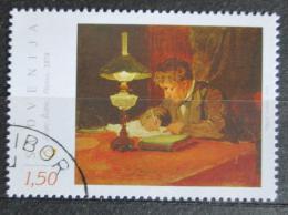 Poštovní známka Slovinsko 2010 Umìní, Janez Šubic Mi# 868