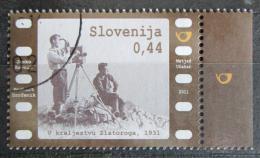 Poštovní známka Slovinsko 2011 Filmaøi Mi# 896