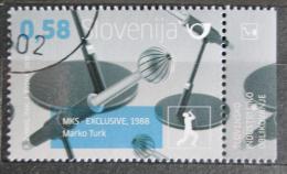 Poštovní známka Slovinsko 2011 Mikrofon Mi# 926