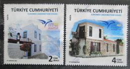 Poštovní známky Turecko 2018 Architektura Støedozemí Mi# N/N