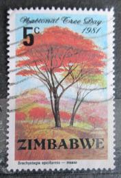 Poštovní známka Zimbabwe 1981 Brachystegia Mi# 255