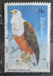 Poštovní známka Zimbabwe 1984 Orel jasnohlasý Mi# 297