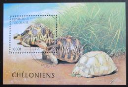 Poštovní známka Togo 1996 Želvy Mi# Block 401 Kat 5€ - zvìtšit obrázek