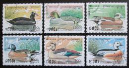 Poštovní známky Kambodža 1997 Kachny Mi# 1704-09