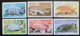 Poštovní známky Afghanistán 1998 Ryby Mi# 1805-10