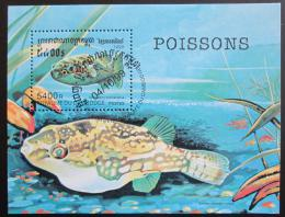Poštovní známka Kambodža 1999 Ryby Mi# Block 259