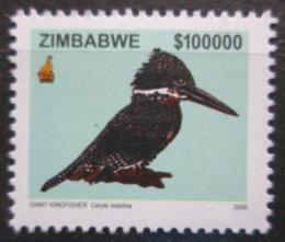 Poštovní známka Zimbabwe 2005 Rybaøík velký TOP Mi# 807 Kat 30€