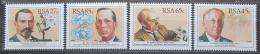 Poštovní známky JAR 1991 Vìdci Mi# 825-28
