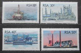 Poštovní známky JAR 1989 Prùmysl Mi# 785-88