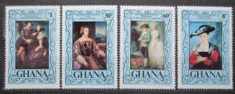 Poštovní známky Ghana 1977 Umìní, Rubens Mi# 710-13 Kat 6€