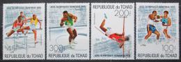 Poštovní známky Èad 1976 LOH Montreal Mi# 742-45