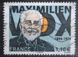 Poštovní známka Francie 2014 Maximilien Vox, spisovatel Mi# 5999