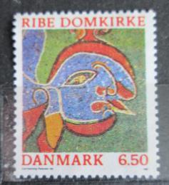 Poštovní známka Dánsko 1987 Umìní, mozaika Mi# 893