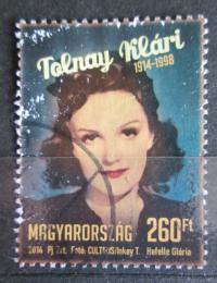 Poštovní známka Maïarsko 2014 Klári Tolnay, spisovatel Mi# 5686