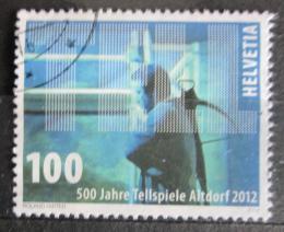 Poštovní známka Švýcarsko 2012 Altdorf, 500. výroèí Mi# 2246