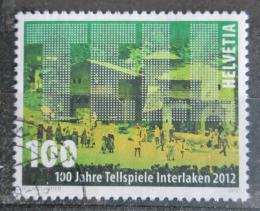 Poštovní známka Švýcarsko 2012 Interlaken, 100. výroèí Mi# 2247