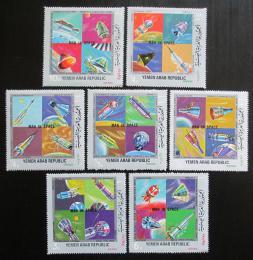 Poštovní známky Jemen 1969 Prùzkum vesmíru Mi# 945-51